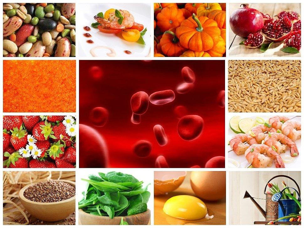 гемоглобин повышающая диета